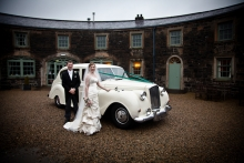 Wedding at Lissanoure Castle
